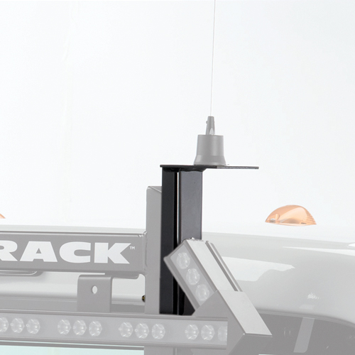 BackRack Antenna Mount Bracket 91008 for Pickup Truck Cab Guards