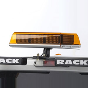 BackRack Center Mount Safety Light Bracket for Pickup Truck Cab Guards