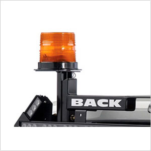 BackRack Corner Mount Safety Light Bracket for Pickup Truck Cab Guards