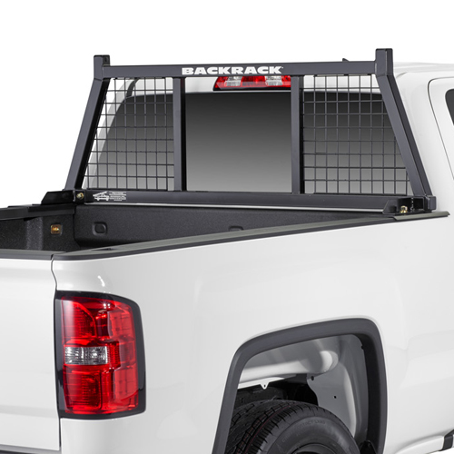 BackRack Half Safety Rack Pick Up Truck Cab Window Guard Headache Rack