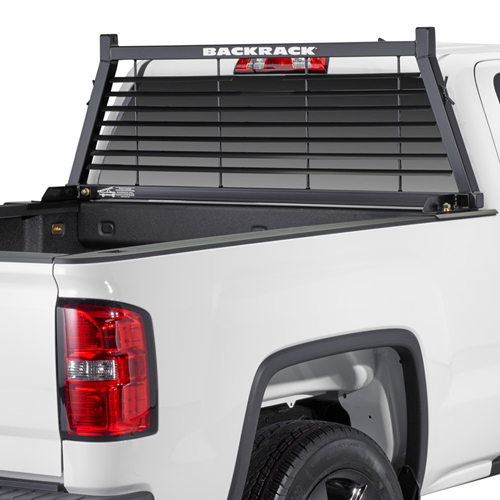 BackRack Louvered Pickup Truck Window and Cab Guard Headache Racks