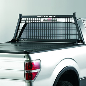 BackRack Safety Rack Pickup Truck Cab Window Guard Headache Rack