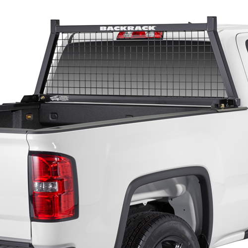 BackRack Safety Rack Cab Window Guard Headache Rack for Pickup Trucks