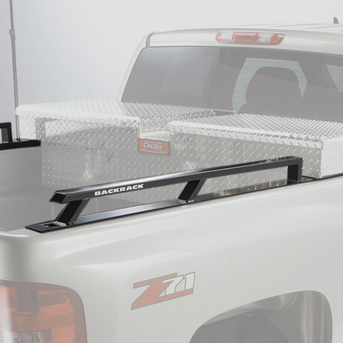 BackRack Industrial Grade Toolbox Side Rails - Short Bed Pickup Trucks