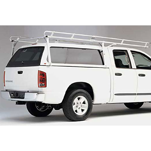 Hauler c10fb6526-1 Chevy Silverado, GMC Sierra 97+ Std Cab 6.5 ft Bed Aluminum Pickup Truck Cap Utility Ladder Rack
