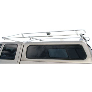 Hauler II Aluminum Pickup Truck Rack Camper Shell Top Mount Ladder Utility Rack c8tmg48-1