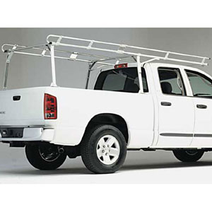 Hauler Chevy Silverado, GMC Sierra 02+ Ext, Crew Cab 6.5 ft Bed t10fb65exspb26-1 HD Aluminum Pickup Truck Utility Ladder Rack