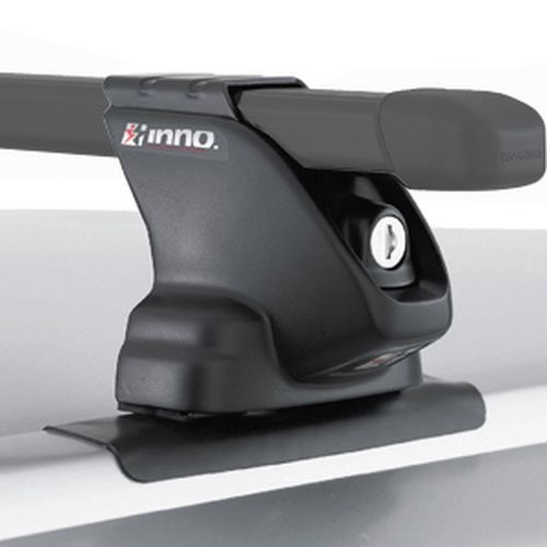 Inno Jeep Commander 2006 - 2010 Complete INXR Black Standard Bar Car Roof Rack