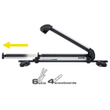 Inno Rail Slider II INA945 Universal Ski Racks Snowboard Carriers for Car Roof Racks