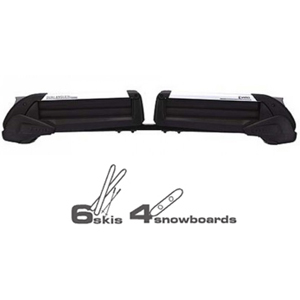 Inno tx726 Dual Angle Ski Racks Snowboard Carriers for Factory Fixed Points