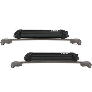 Inno xa927 Gravity T-Slot Mounted Ski Rack Snowboard Carrier for Car Roof Racks