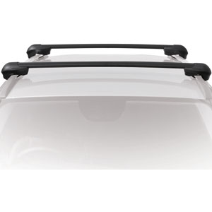 Inno Mitsubishi Endeavor Raised Rails 2005-2011 XS100 Aero Crossbar Raised Railing  Roof Rack