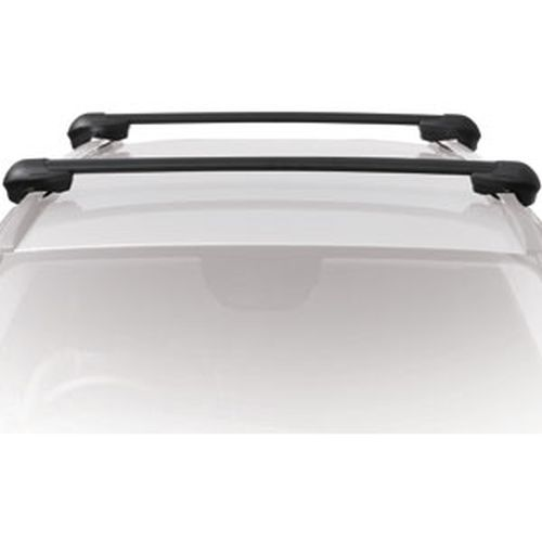 Inno Mitsubishi Outlander Raised Rails 2007-2013 XS100 Aero Crossbar Raised Railing  Roof Rack