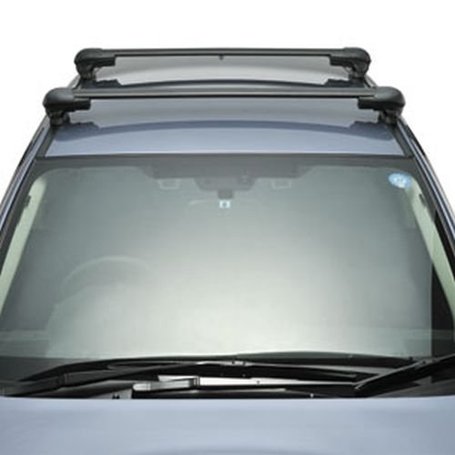 Inno Mazda 5 2011 - 2014 Complete XS300 Aero Bar Roof Rack for Factory Fixed Points and Tracks