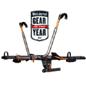 Kuat n101 NV 2 Bike 2 Hitch Mounted Bicycle Rack Carrier, Gun Metal Gray