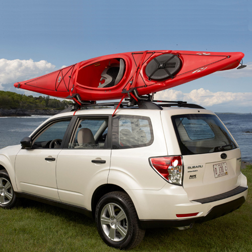 Malone DownLoader mpg114md J-Style Cradle Fold Down Kayak Carrier Rack
