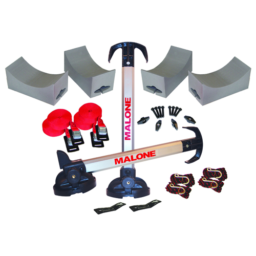 Malone Stax Pro 2 mpg115md Multi Kayak Stackers for Roof Racks