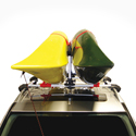 Malone mpg115md Stax Pro 2 Multi Kayak Stackers for Roof Racks, 20% Off Returned Item