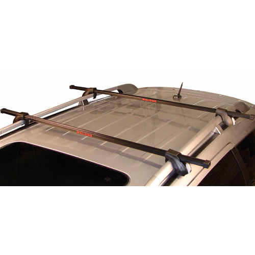 Malone 58 Universal Fit Square Bar Raised Railing Roof Rack with Locks mpg202, Rebox Item