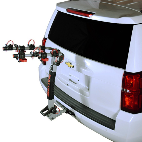 Malone Hanger HM4 4 Bike mpg2124 Hitch Mounted Bicycle Rack Carrier
