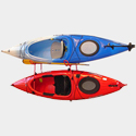Malone mpg317 J-Dock Hybrid 2 Kayak Wall Storage Racks