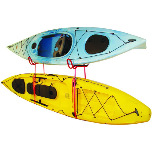 Malone J-Dock Hybrid 2 Kayak Wall Storage Racks mpg317