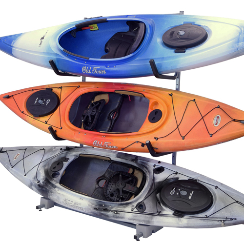 Malone mpg318 FS 3 Kayak Free Standing adjustable Kayak Storage Racks