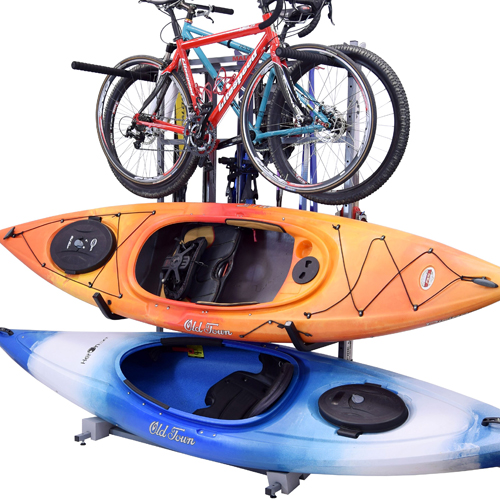Malone mpg388 FS Kayak, Bicycle, Skis, SUP Free Standing Storage Rack