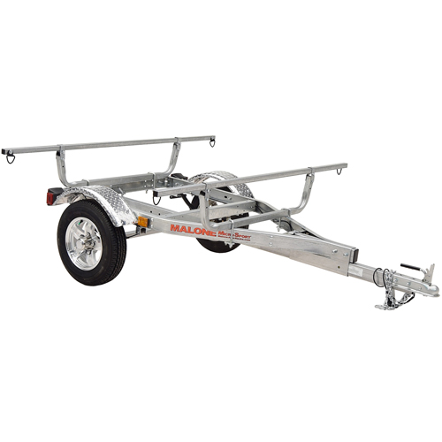 Malone MicroSport XT mpg460xt Upgraded Sports Trailer for Kayaks, Canoes, Bikes, SUPs