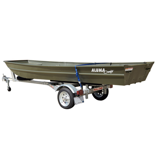 Malone MicroSport Trailer mpg461jb with Spare Tire Kit, 1 Set of Bunk Style Carriers, 1 Winch & Bow Stop