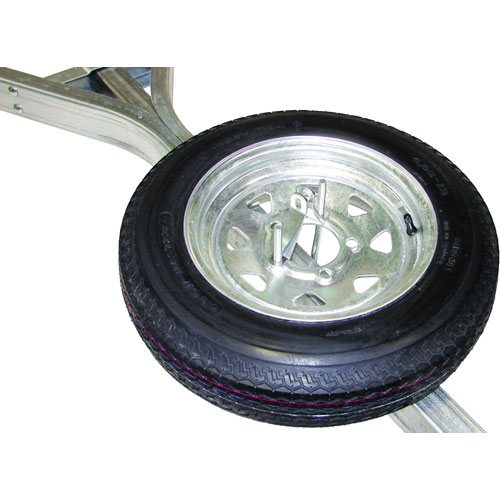 Malone Galvanized Spare Tire mpg465 for Malone MicroSport Trailers