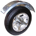 Malone mpg466 MicroSport Trailer Aluminum Spoke Wheels Upgrade Kit