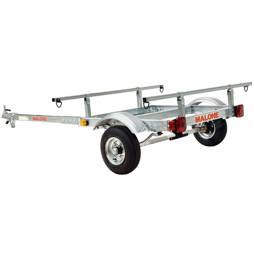 Malone mpg525g XtraLight Trailer for Kayaks, Canoes, Bikes, SUPs, more