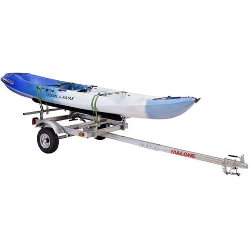 Malone mpg586xb EcoLight Single Kayak Trailer and 1 Set of Kayak Bunks