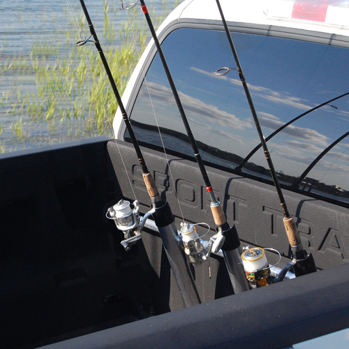 Portarod 3 Rod Inshore Pickup Truck Bed Rack for Carrying Fishing Poles and Fishing Rods