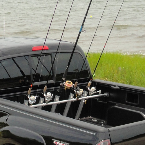 Portarod 5 Rod Inshore Pickup Truck Bed Rack for Fishing Poles Rods