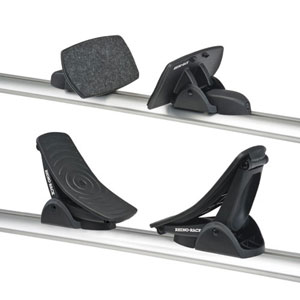 Rhino-Rack 581 Nautic Rear Loading Kayak Carrier Saddles slide into most Aero Crossbars