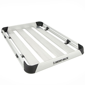 Rhino-Rack Alloy Roof Top Luggage Tray at1510, Cargo Basket Platform