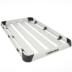 Rhino-Rack at1810 Alloy Roof Top Luggage Tray, Cargo Basket Platform