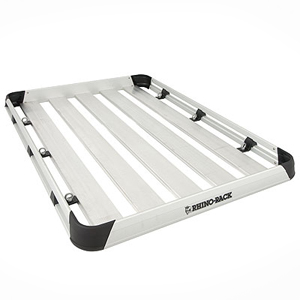 Rhino-Rack at1812 Alloy Roof Top Luggage Tray, Cargo Basket Platform