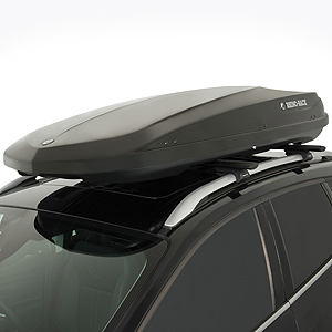 Rhino Rack 17.5 Cf High Gloss Black Master Fit Roof Top Cargo Box Rmfz86