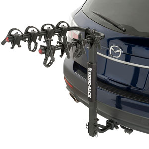 Rhino-Rack rbc044 Premium 4 Bike Hitch Carrier for 2 and 1.25 Receivers