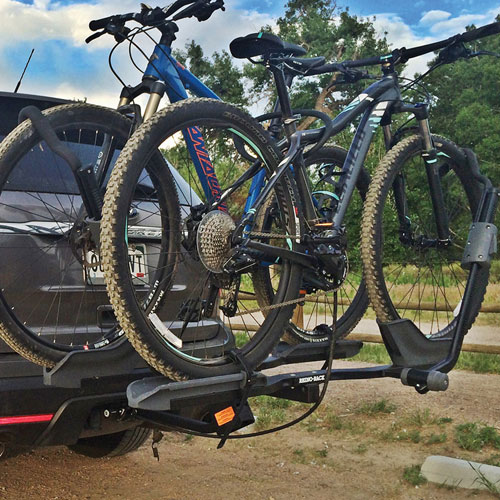 Rhino-Rack Dual Trekker rbc048 Platform Style 2 Bike Hitch Rack for 2