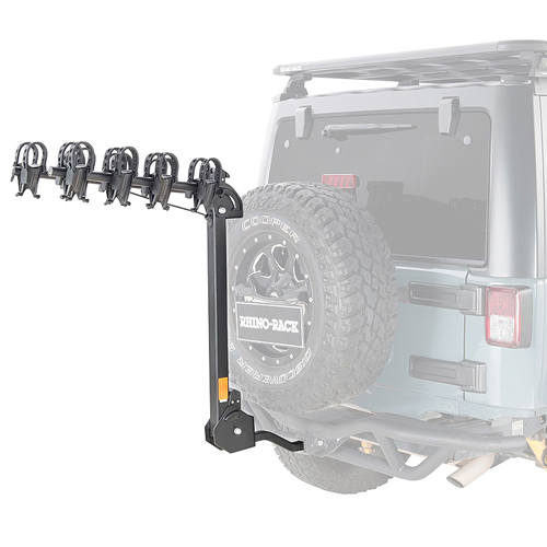 Rhino-Rack Cruiser 4 Bike rbc051 Hitch Carrier for 2