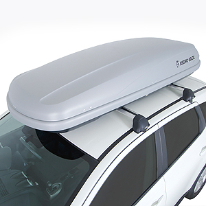 Rhino-Rack rmf550 19.5 cf Silver Master Fit Roof Top Cargo Box