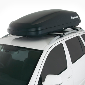 Rhino Rack 15.5 Cf Black Master Fit Rmfb440 Roof Top Cargo Box