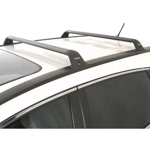 Rhino-Rack rsp Series Fixed Point Black Aero Crossbar Car Roof Rack