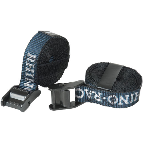 Rhino-Rack rtd3 10 Foot Heavy-Duty Cam Buckle Tie-down Straps, Pair
