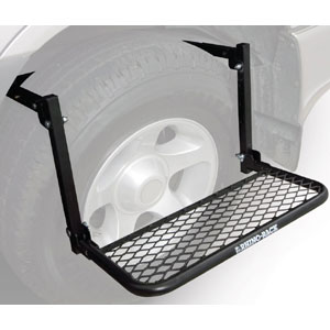 Rhino-Rack Wheel Step rws for easy Access to Car Roof Racks