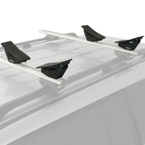 Rhino-Rack s400 Kayak and Canoe Carrier Saddles slide into most Aero Crossbars
